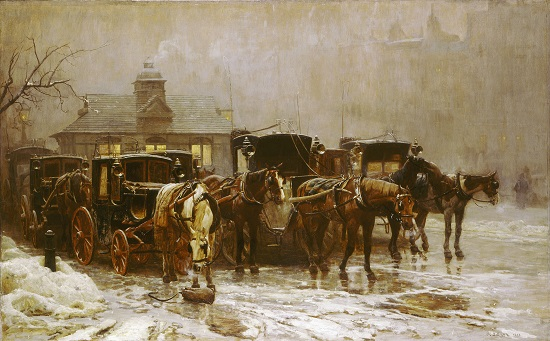 John Dollman, Les Miserables, 1888