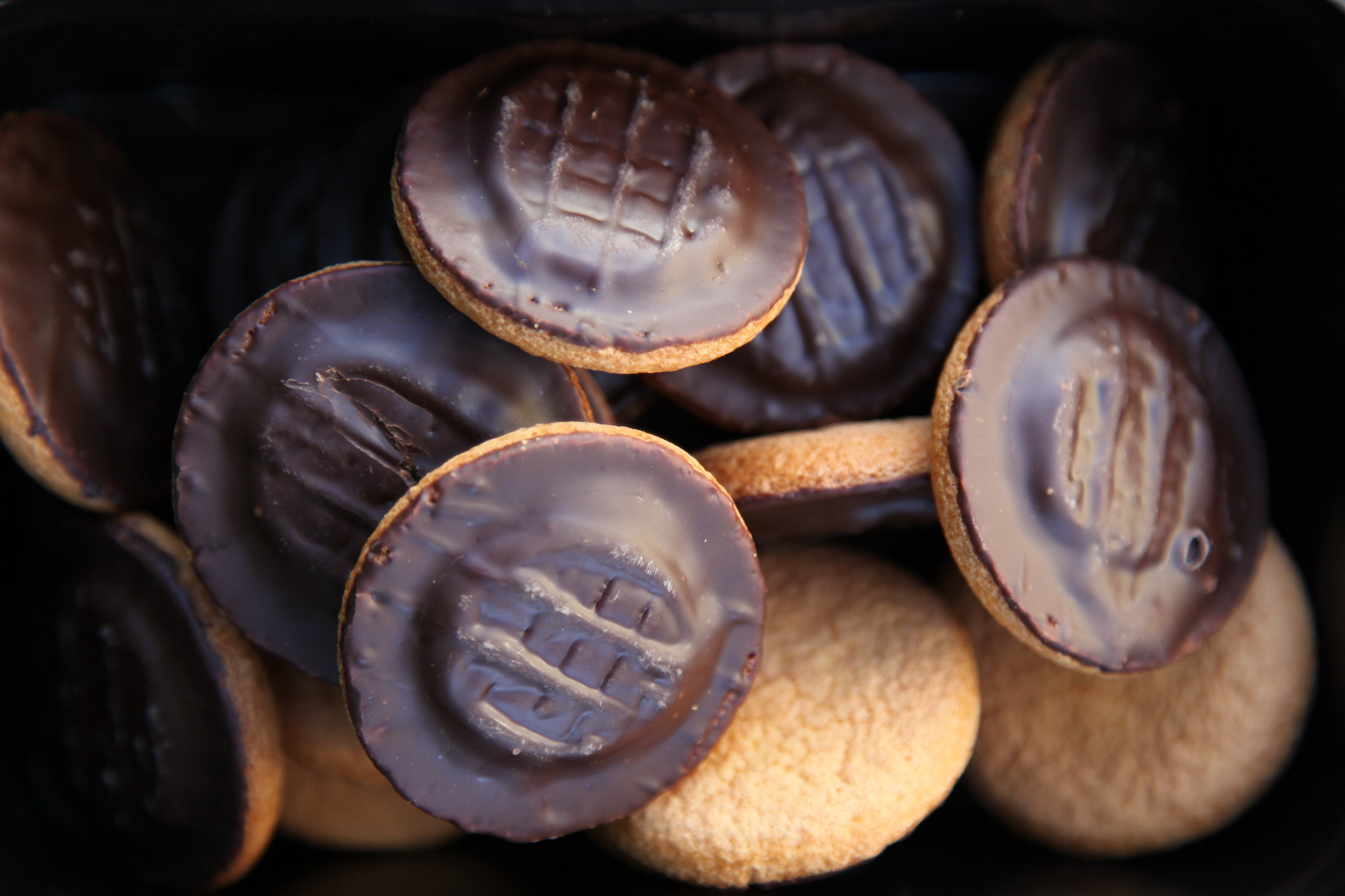 photo of jaffa cakes