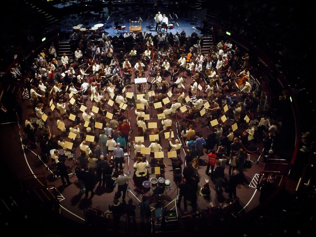 A Proms orchestra