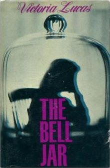 The Bell Jar first edition cover, by Victoria Lucas