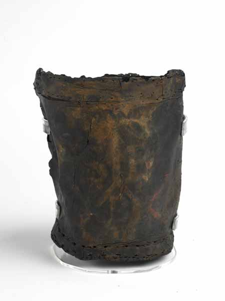 Fire bucket – 1666, excavated from a burnt house on Lower Thames Street.