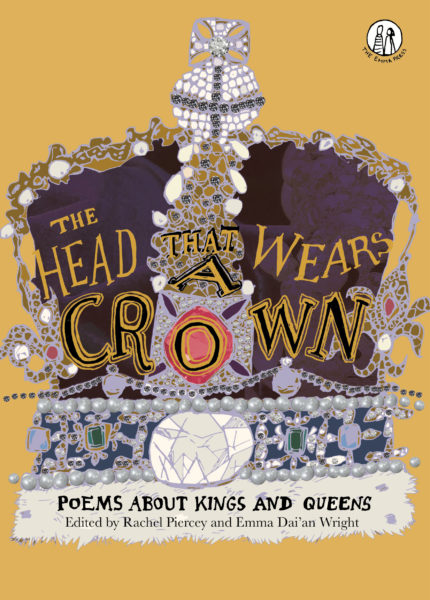 illustration of the puple crown on the front page of The Head That Wears A Crown