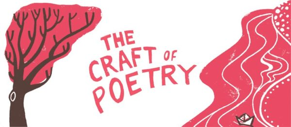 text reading 'The Craft of Poetry' in the centre.