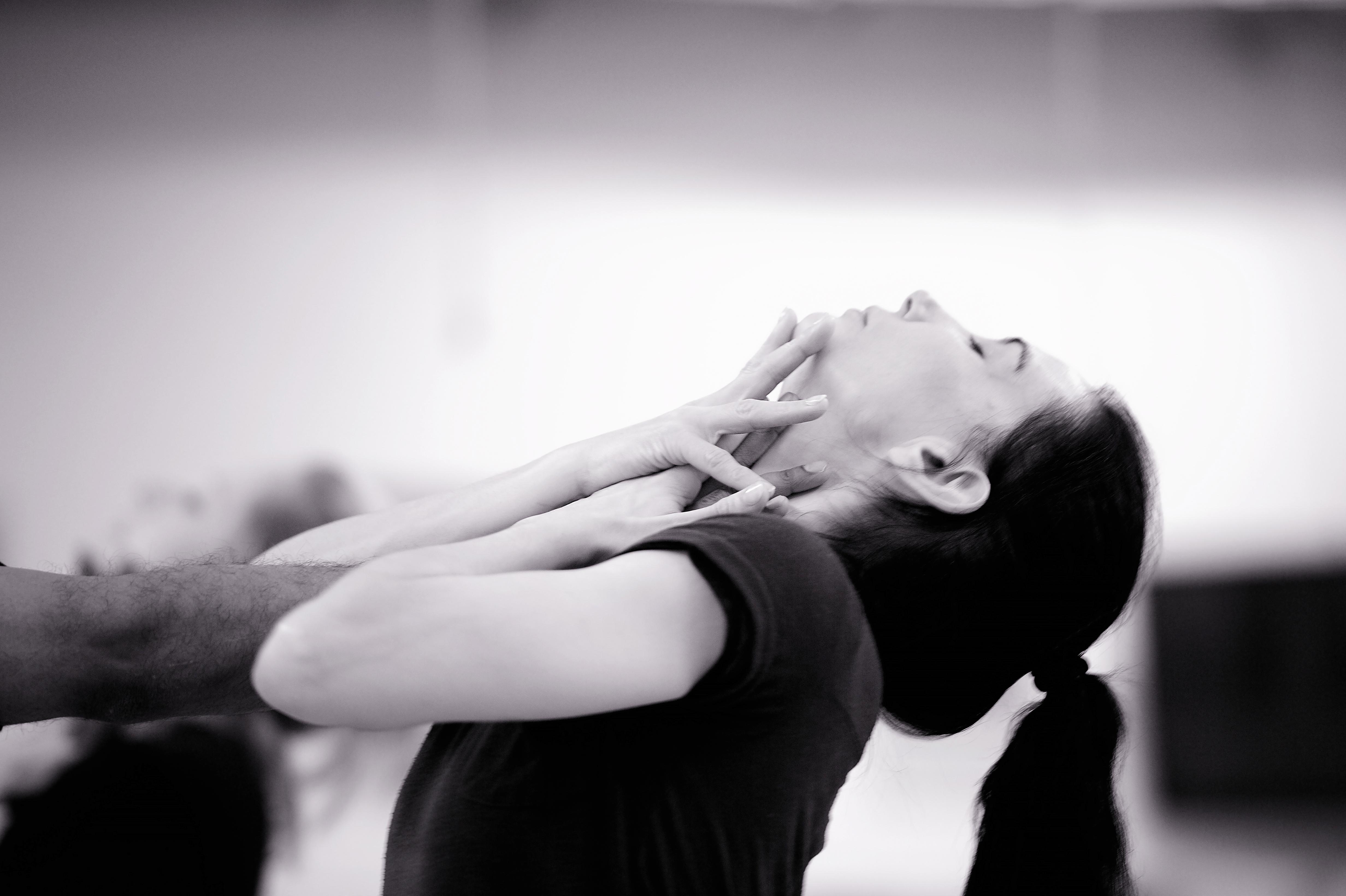 Tamara Rojo n rehearsals for Akram Khan's Giselle © Laurent Liotardo