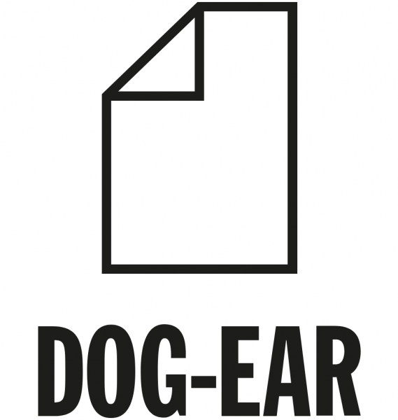 Dog-Ear logo: image of a piece of paper with the corner folded down
