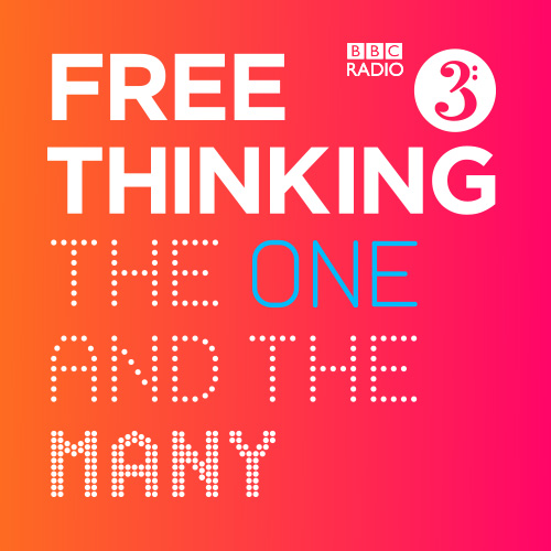 BBC Radio 3's Free Thinking Festival logo, on the theme of The One and the Many