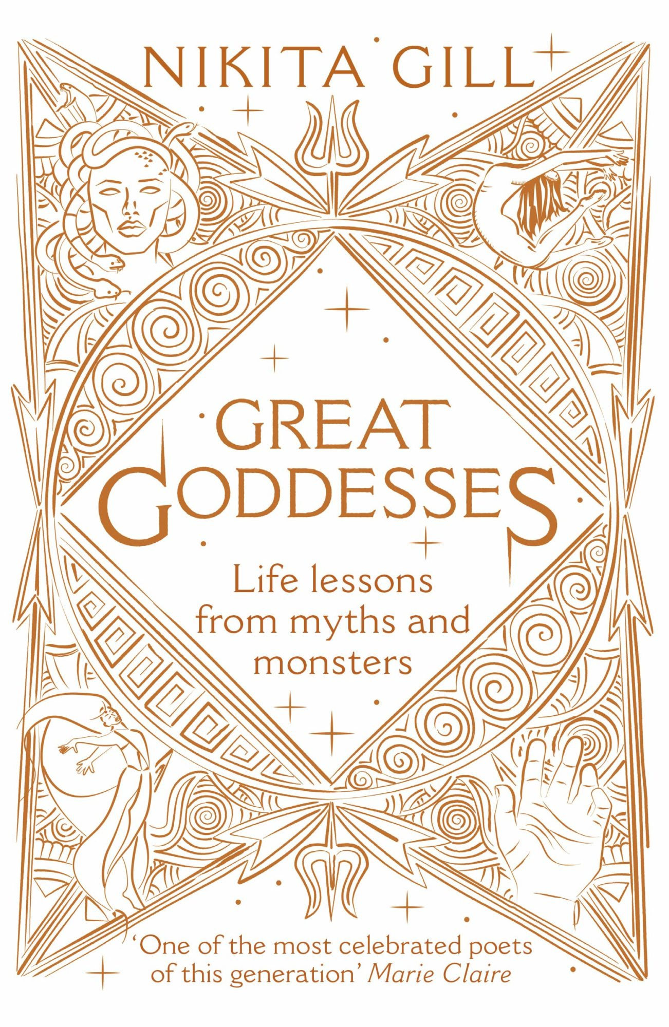 Cover of Great Goddesses by Nikita Gill
