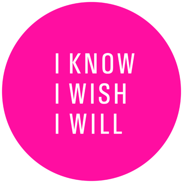I Know I Wish I Will logo