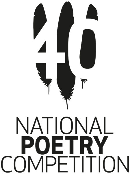 national poetry competition 40th anniversary logo