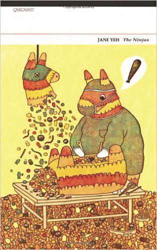 The Ninjas book cover: a pinata eating another pinata
