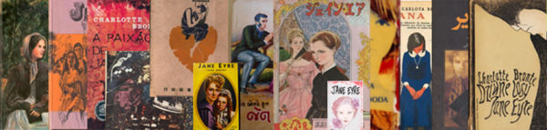 Jane Eyre book covers from across the globe