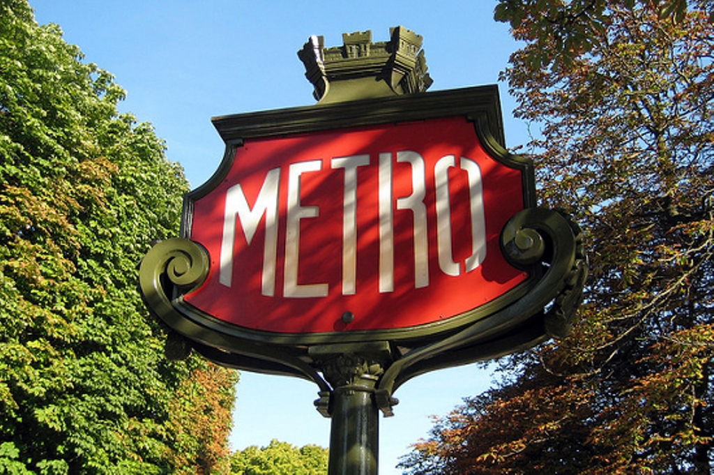 Paris-Metro-Station
