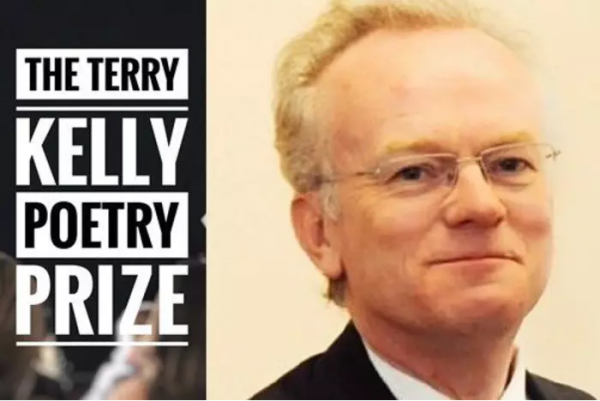 Terry Kelly Poetry Prize. Image of Terry Kelly, the late journalist.