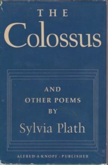 Cover of 'The Colossus and other poems by Sylvia Plath'