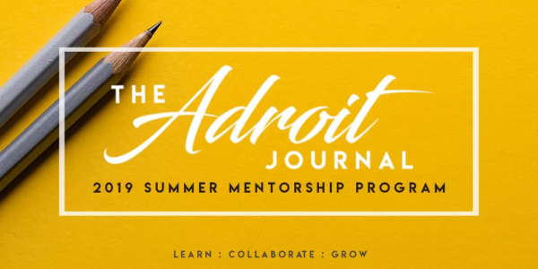 logo for the adroit summer mentorship program