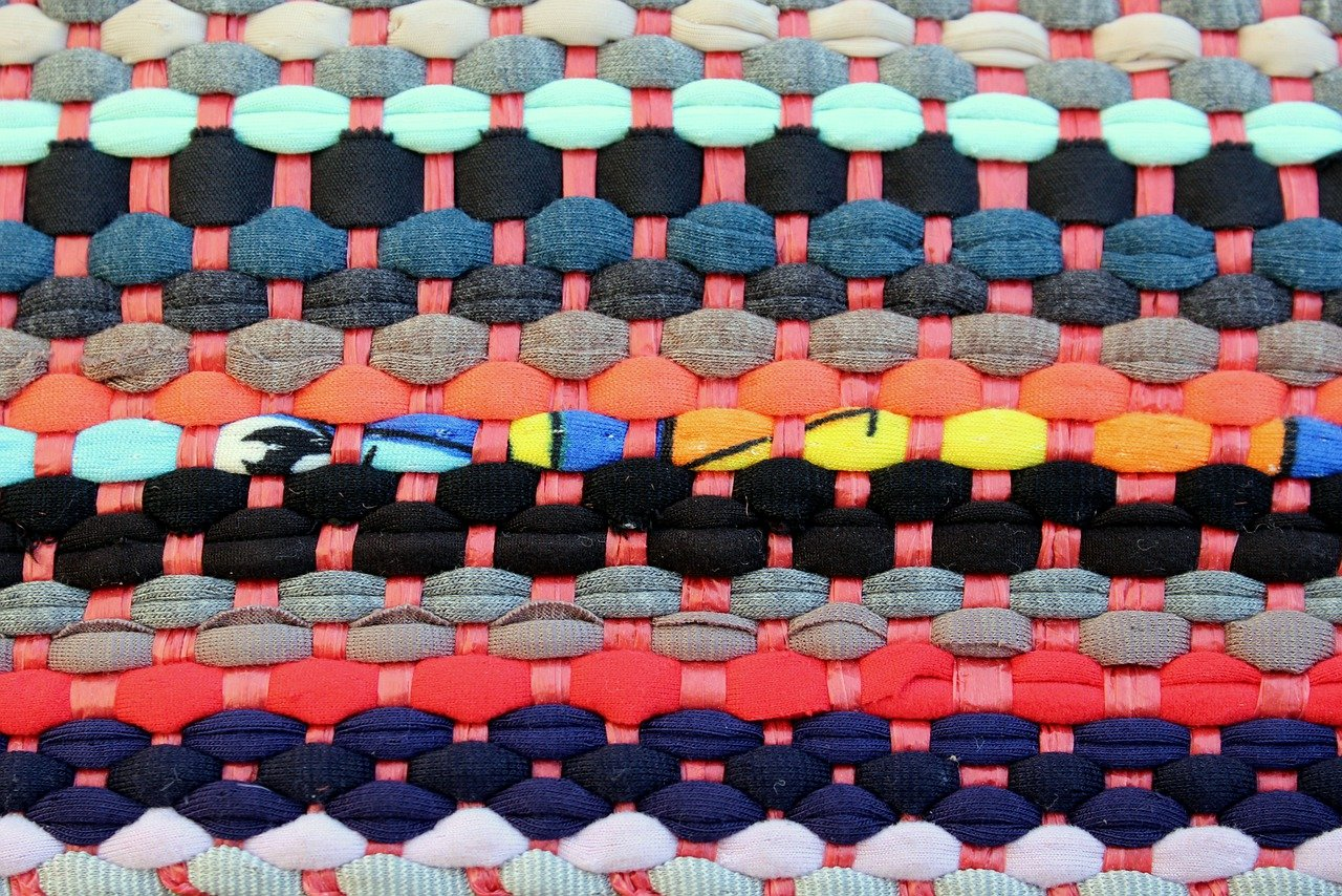Photo of woven fabric