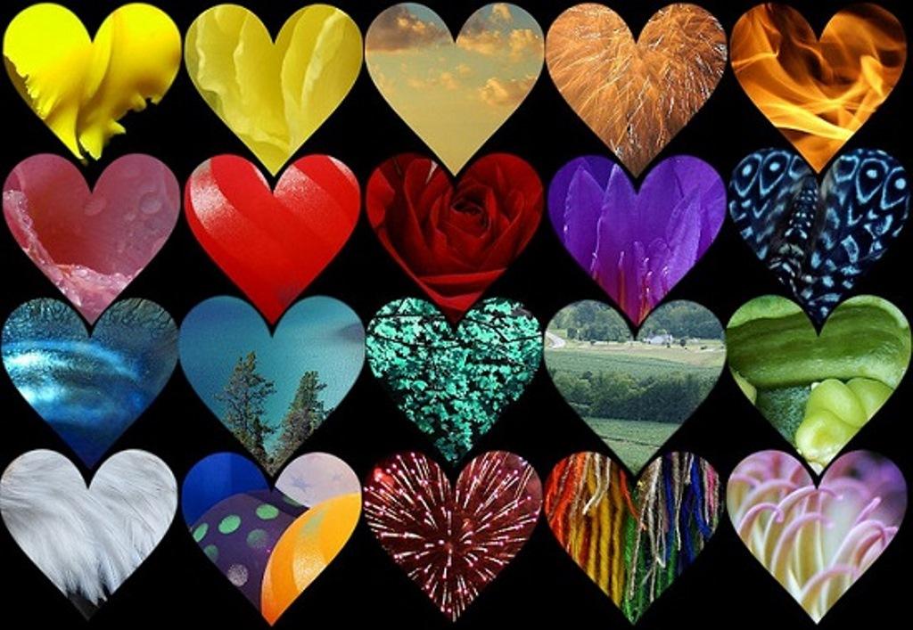 coloured-hearts