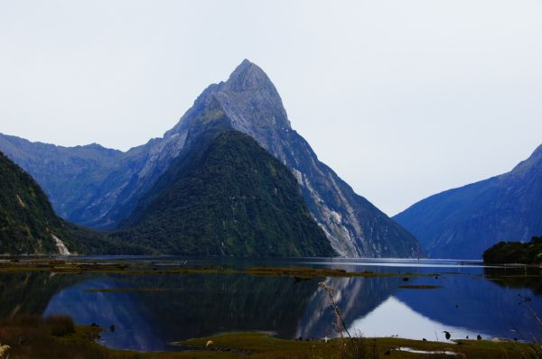 Mountain in New Zealand