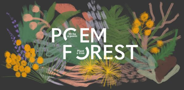 Poem Forest: write a poem, plant a tree