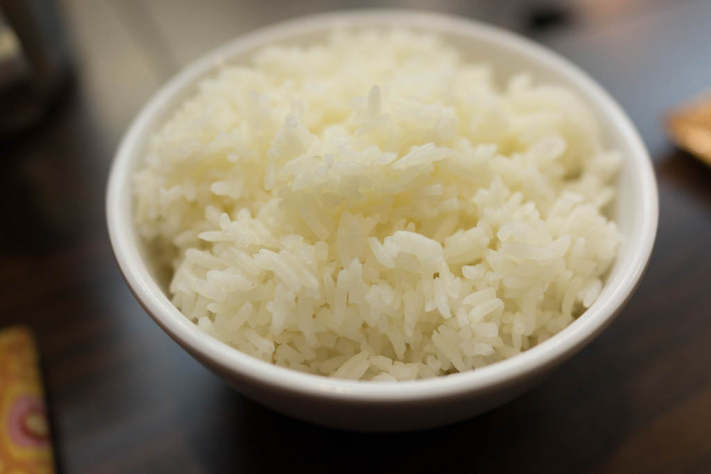 Photo of a bowl of cooked rice