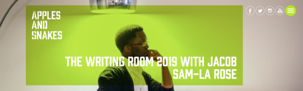 writing room 2019 with jacob sam la-rose